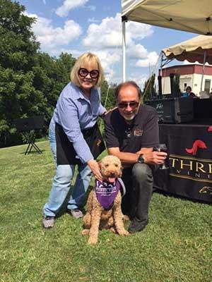 Three Fox Vineyard top dog friendly wineries in Northern Virginia